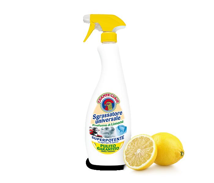 Sgrassatore Classico Chanteclair Limone