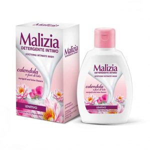 malizia intimate wash calendula aloe liquid soap 200ml 1