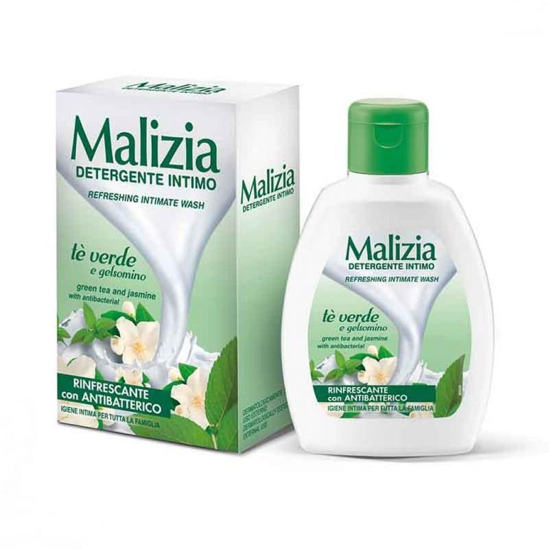 malizia intimate wash green tea and jasmine liquid soap 200ml 1