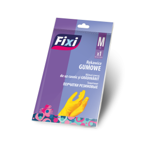 FIXI RĘKAWICE GUMOWE M R 5184