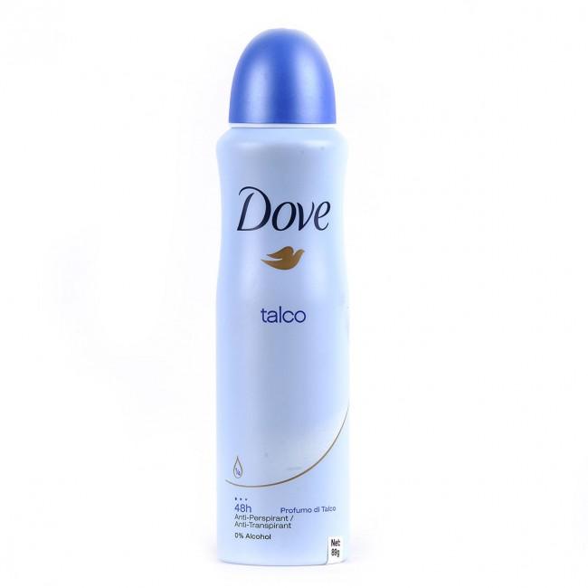 dove deodorant body spray talco
