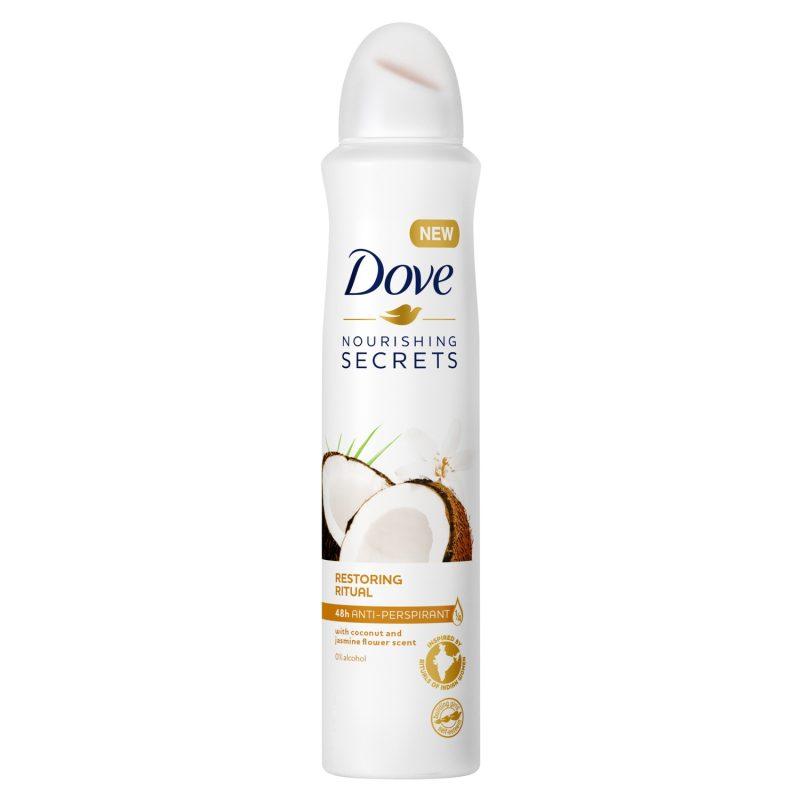 dove deodorant spray femei 150 ml restoring ritual coconut jasmine 930 7008