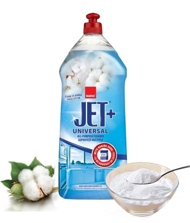 solutie de curatenie universala cu bicarbonat de sodiu sano jet gel 1 1441