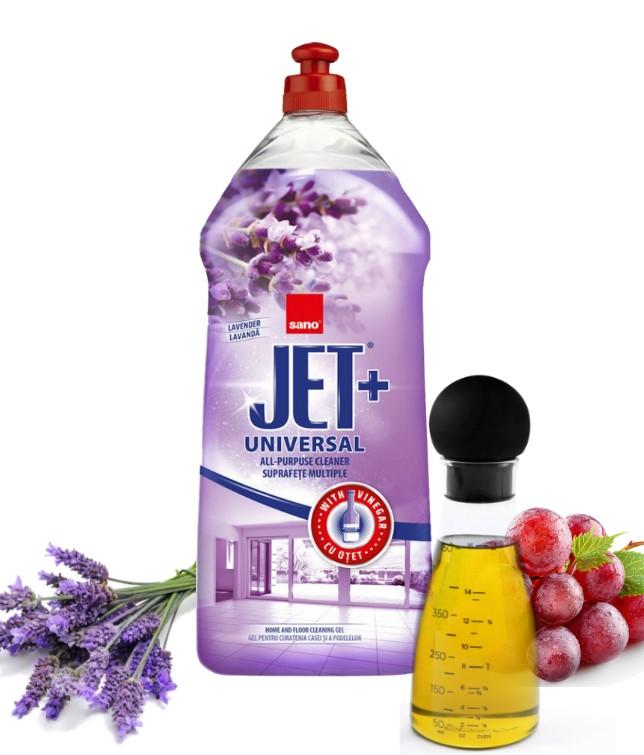 solutie de curatenie universala cu otet sano jet gel 1 5l 1443