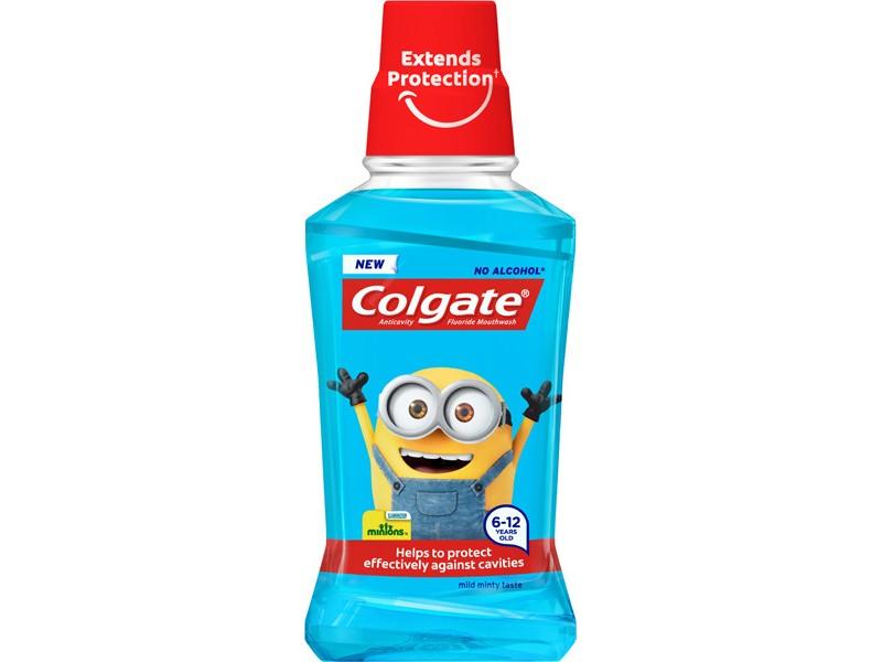 colgate minions apa de gura pentru copii 6 12 ani 250ml 800x600 1