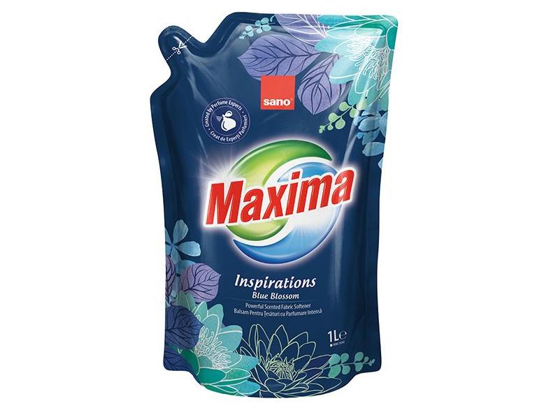 rezerva balsam sano maxima 1litru blue blossom cover