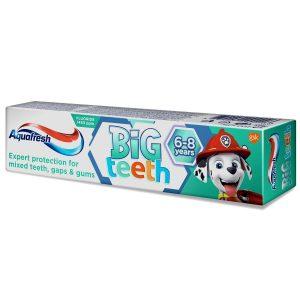 a305797b cc64 4aea 8cc4 8b8b52c7c897 i aquafresh big teeth psi patrol pasta do zebow 6 8 lat 50ml