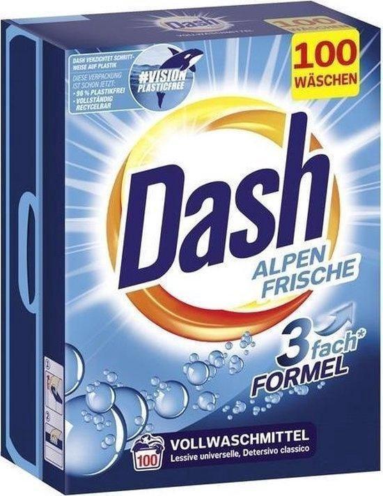 dash universeel waspoeder xxl pack alpen fris 65 k