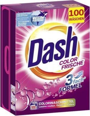 dash washing powder xxl pack color frische 100 was