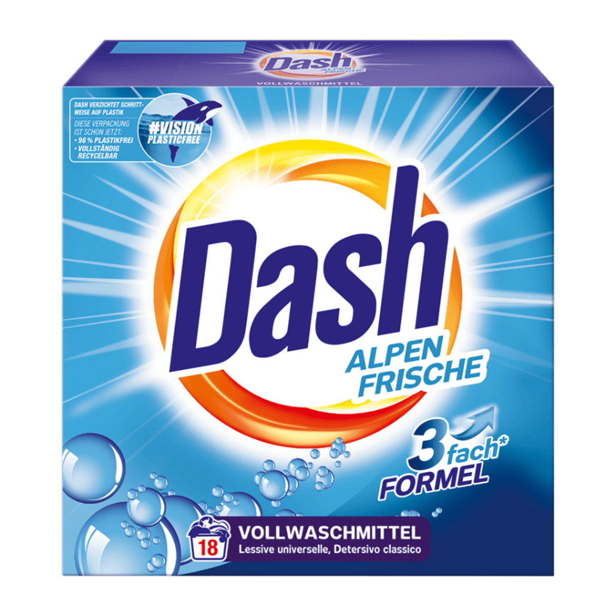 5764387 Dash Waschmittel original