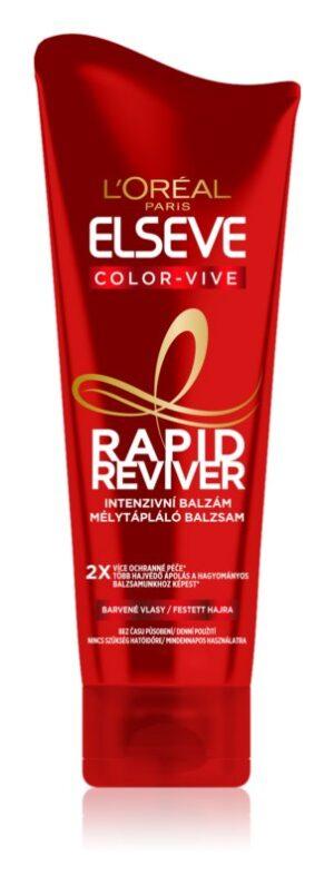 loreal paris elseve color vive rapid reviver balsam pentru par vopsit   3