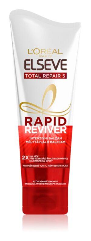 loreal paris elseve total repair 5 rapid reviver balsam pentru par deteriorat   3