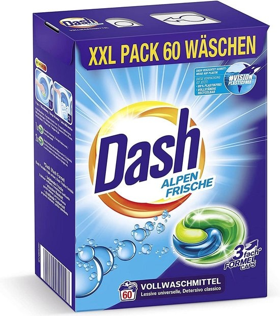 dash alpenfresh 3 in 1 caps xxl economy pack 60 de