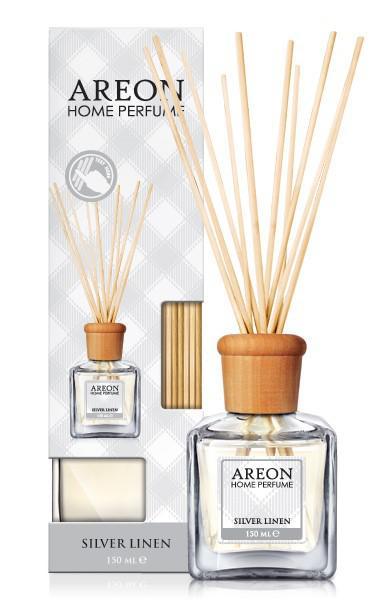 HPS12 G01 Areon Home Perfume 150 ml Silver Linen