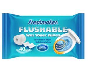 m45 freshmaker flushable wet wipes 40 pcs 48652 72746
