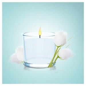 febreze cotton fresh scented candle odour eliminating home air freshener 100g 2835487 500x500