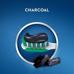 pasta de dinti crest 3d white charcoal carbune activ 116gr