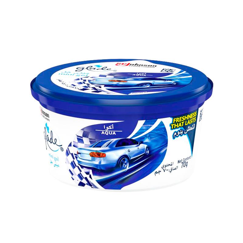 5000204928167 Glade Mini Gel Aqua Air Freshener 70gm 1
