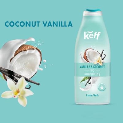 992577 Gel de dus Vanilla Coconut 500 ml Keff1 217086